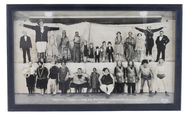 Kelty Ringling Circus Congress of Freaks Photo - 1929