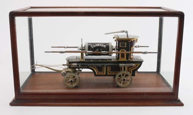 19th Century Clinton Fire Pumper Model