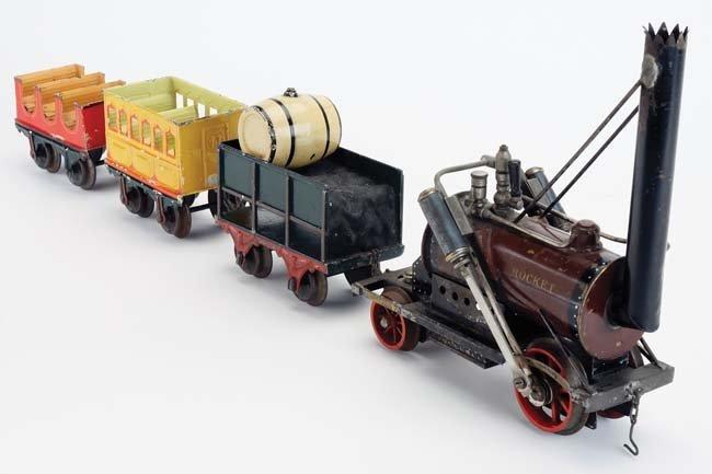 Marklin Rocket Engine & Cars