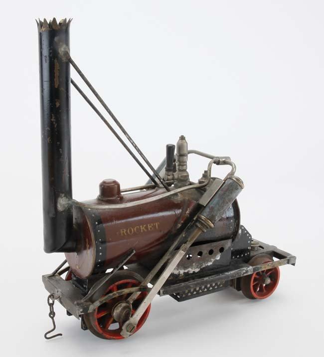 Marklin Rocket Engine & Cars - 6