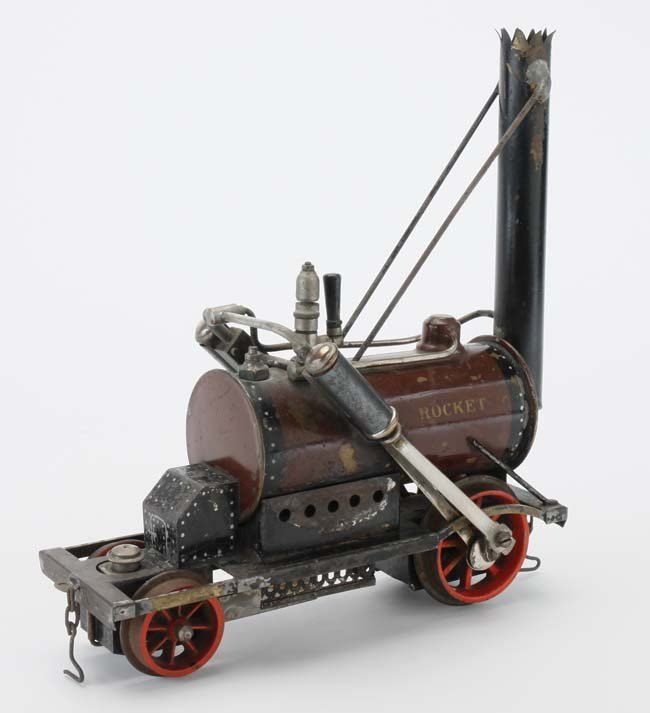 Marklin Rocket Engine & Cars - 7
