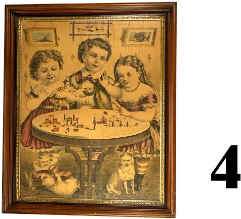 4: Currier & Ives Style Print