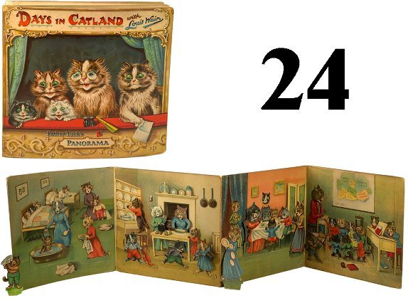 24: Louis Wain Panorama