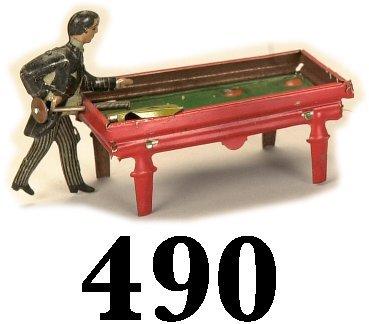 490: Kellermann Pool Player Penny Toy