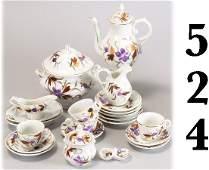 524: German Dinner and Tea Service