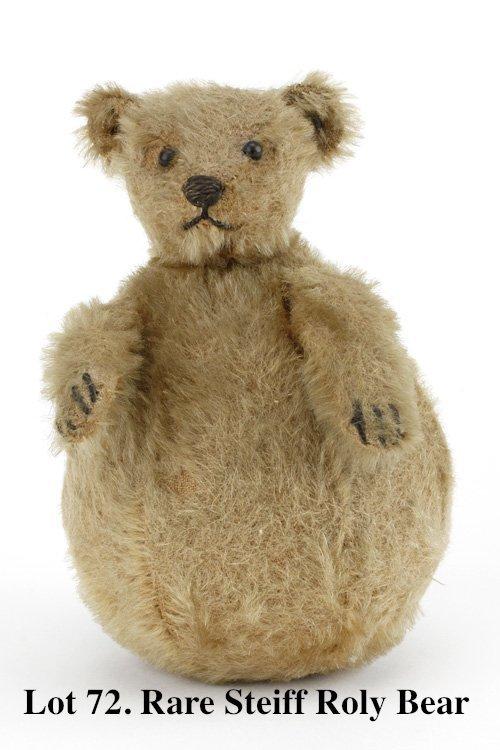 Rare Steiff Roly Bear