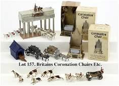 Britains Coronation Chairs Etc