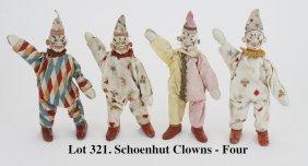 Schoenhut Clowns - 4