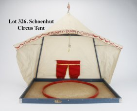 Schoenhut Circus Tent