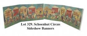 Schoenhut Circus Sideshow Banners