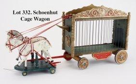 Schoenhut Cage Wagon