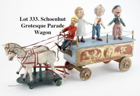 Schoenhut Grotesque Parade Wagon