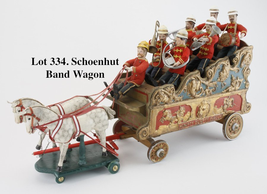 Schoenhut Band Wagon