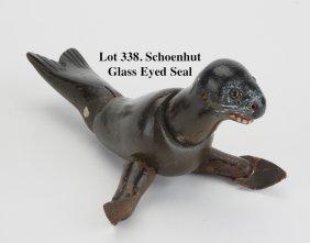 Schoenhut Glass Eyed Seal