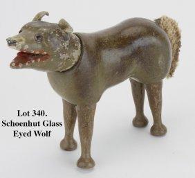Schoenhut Glass Eyed Wolf