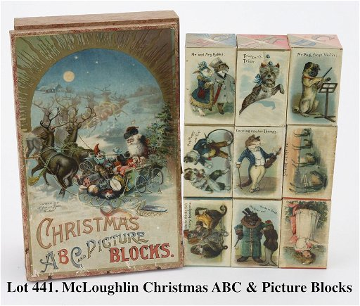 McLoughlin Christmas ABC & Picture Blocks