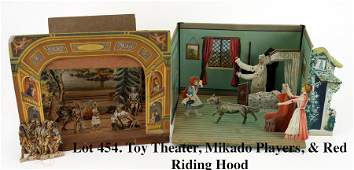 Toy Theater Mikado Players  Red Riding Hood Toy