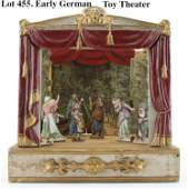Early German Toy Theater