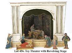 Toy Theater with Revolving Stage