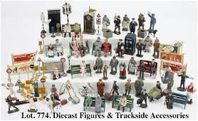 Diecast Figures & Trackside Accessories