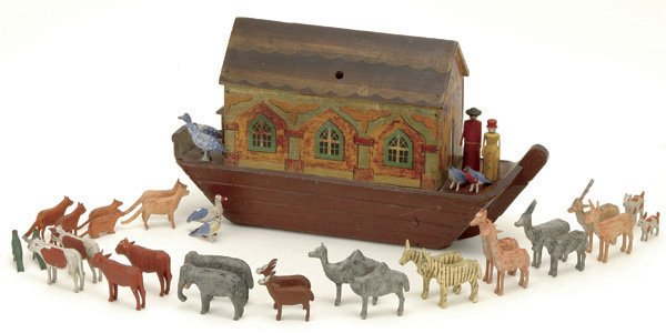 4: Barge Bottom Noah's Ark