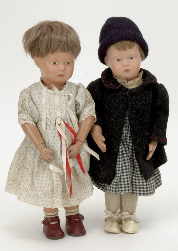 11: Lot: Two Schoenhut Toddlers