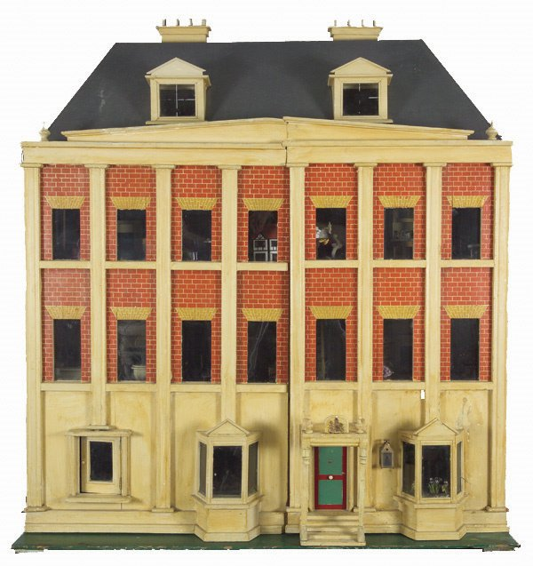 321: Very Large Silber and Fleming-type Dolls House