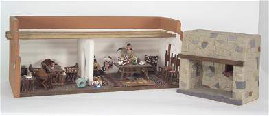 748: Modern South Western Adobe Room Box