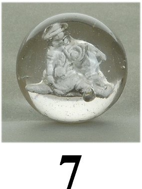 7: Little Boy Blue Sulfide Marble