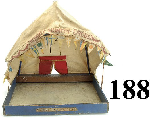 188: Schoenhut Circus Tent with base