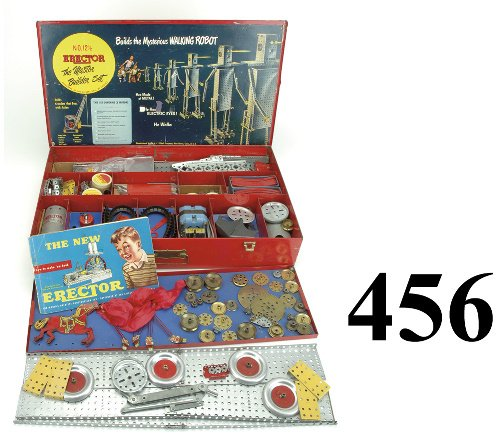 456: No. 12 1/2 erector Set - The Master Builder Set