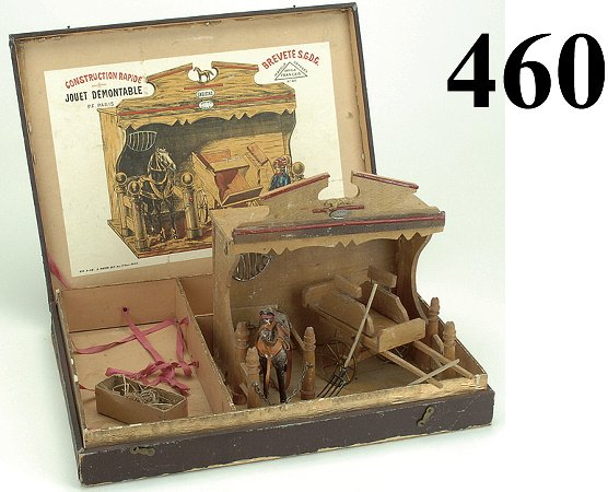 460: French Stable Construction Toy