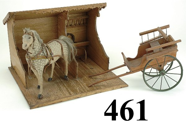 461: Carriage  & Horse with Stable