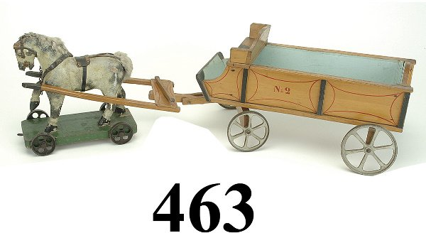 "463: Horse Drawn ""No. 2"" Wagon"