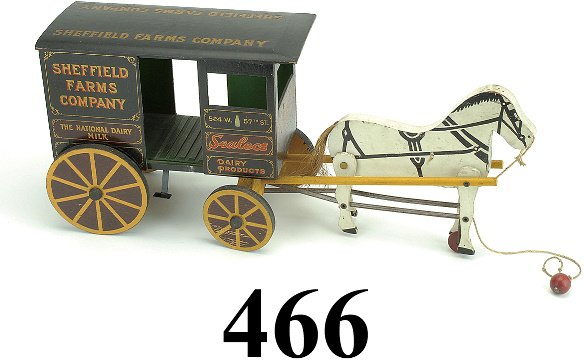 466: Sheffield Farms Dairy Wagon