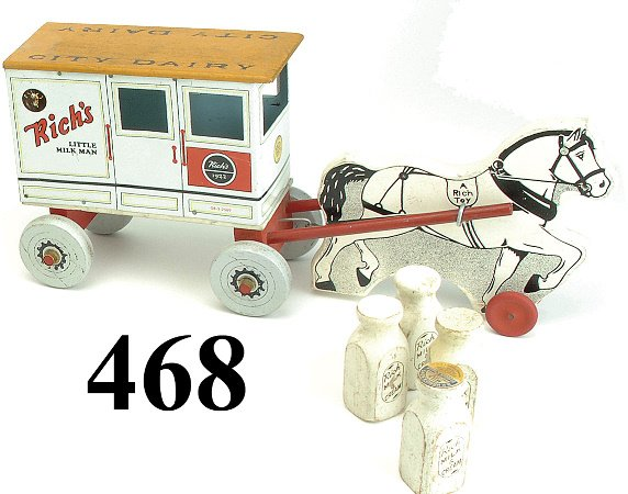 468: Rich's Little Milk Man Dairy Wagon