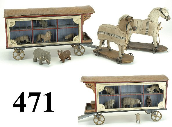 471: Horse Drawn Menagerie Wagon
