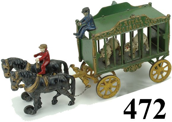 472: Royal Circus Cage Wagon