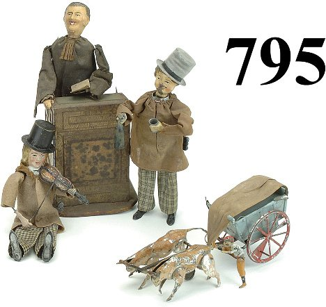 795: Lot: 4 Martin Toys - for repair
