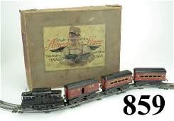 859: American Flyer O Gauge Passenger Set with box