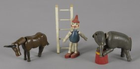 Schoenhut complete painted wood dollar circus se