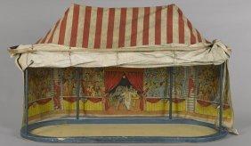 Schoenhut's Humpty Dumpty circus tent, 27'' h.,