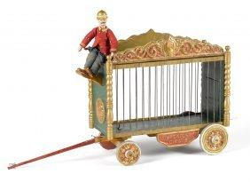 Schoenhut Humpty Dumpty circus cage wagon with