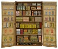Paper lithograph Miniature Corner Store grocer
