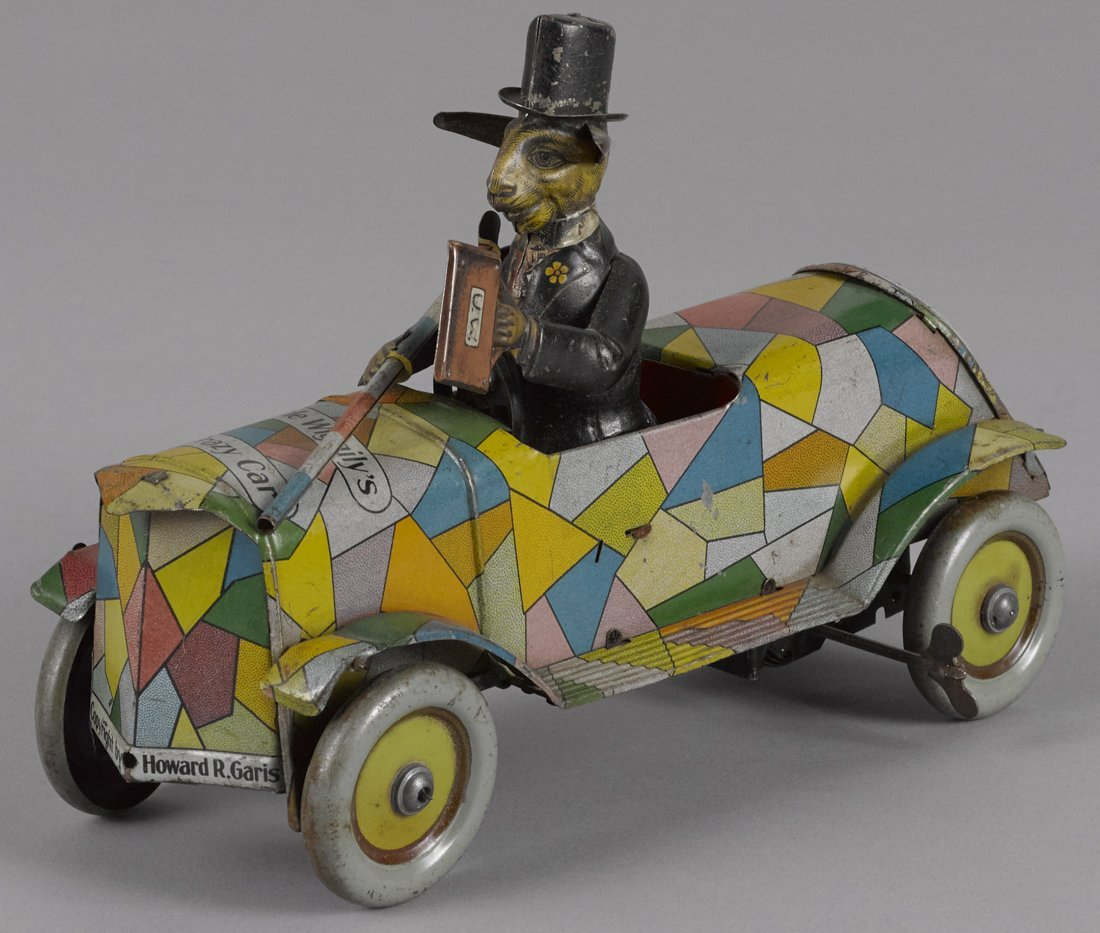 Distler tin lithograph wind-up Uncle Wiggily Cra