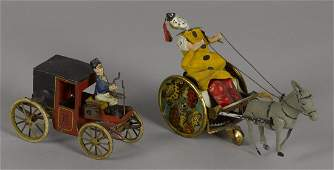 Two Lehmann tin wind-up toys, to include a ''Bal