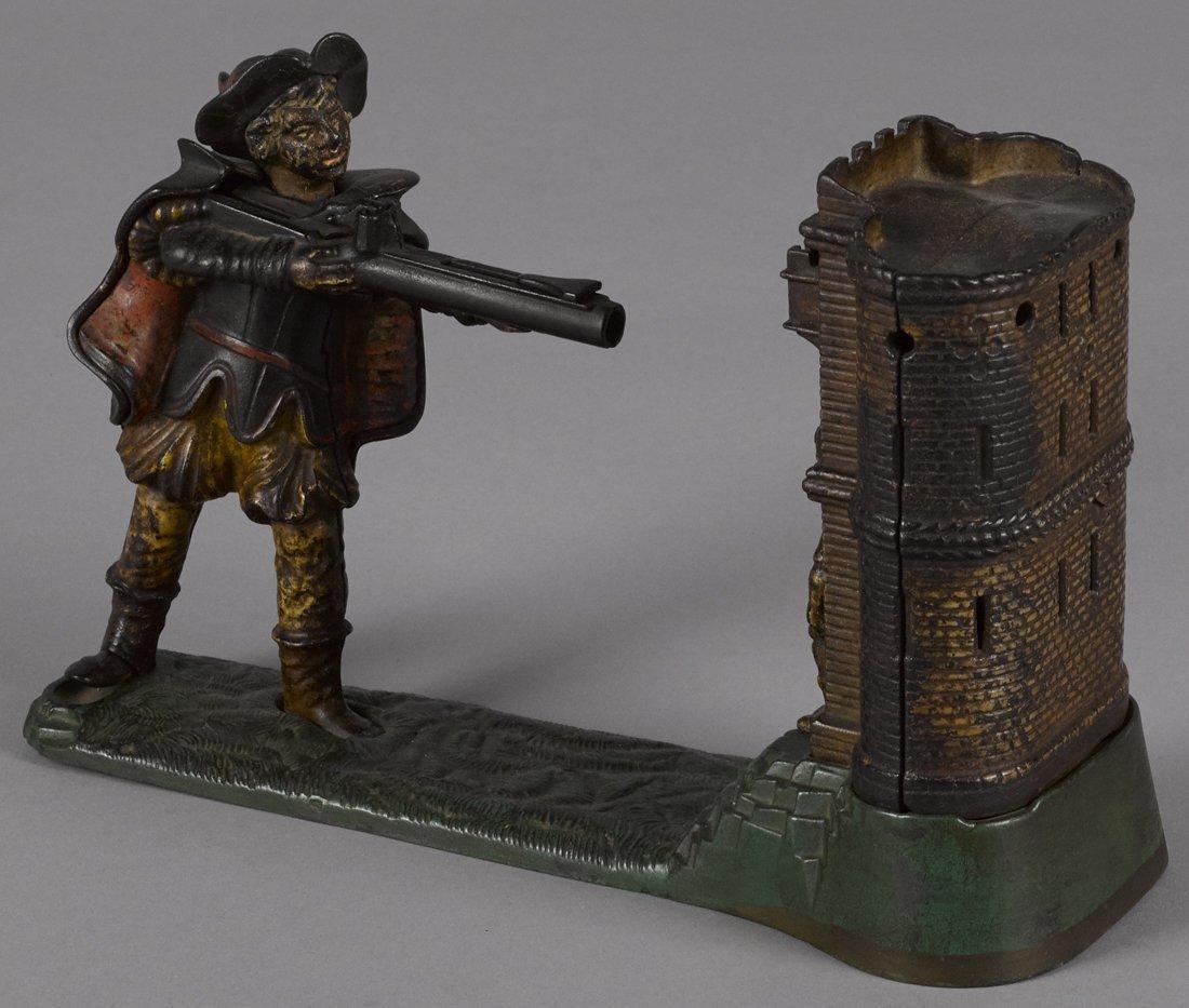 J. & E. Stevens cast iron William Tell mechanica