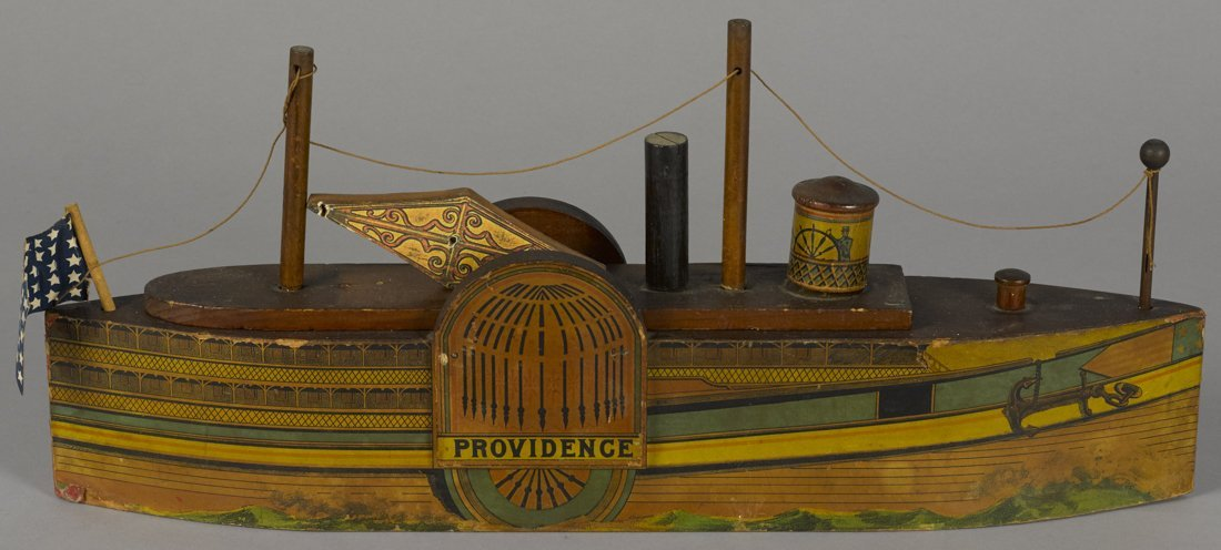 W. S. Reed paper lithograph on wood Providence