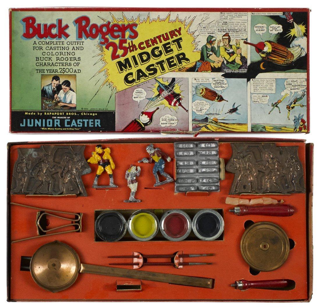 Buck Rogers Midget Caster set, in original box