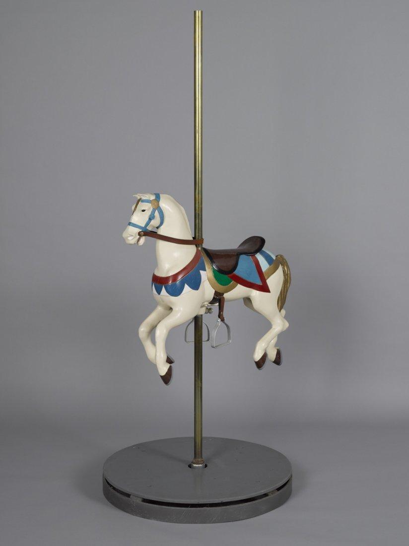 W. F. Mangels kiddy ride carousel horse, New Yor
